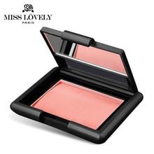 Makeup Blush Cosmetic Powder Blush Maquiagem Natural Face Blush Powder Makeup Blusher Palette Mineralize blush With Mirror