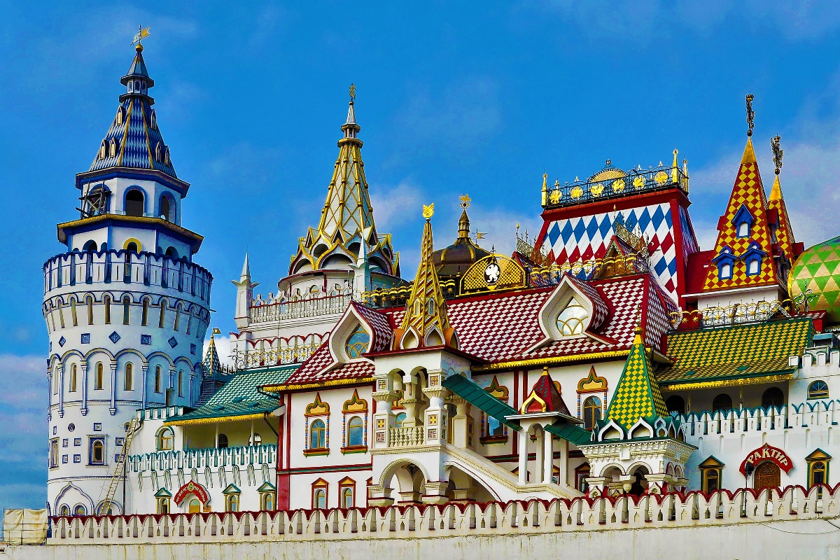 Moscow russia architecture the izmailovo kremlin city for Architecture urss