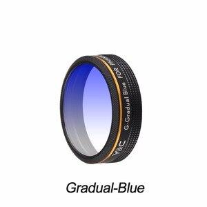 Image 5 - Lens Filtreler Kademeli Kırmızı Mavi Turuncu Gri Filtre DJI Phantom 4 PRO için Gelişmiş Drone Kamera Lensi Parçaları