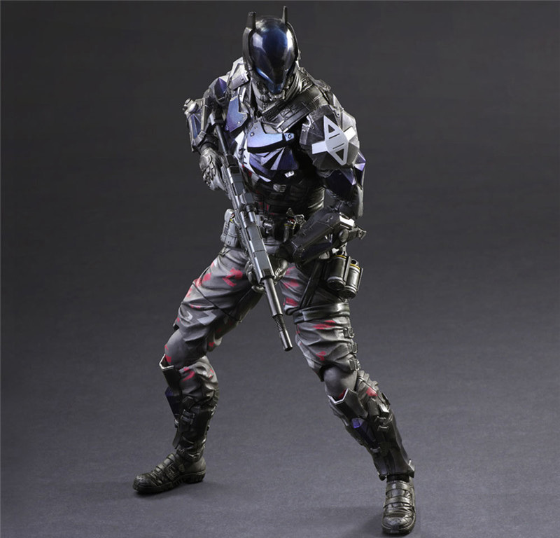 "Gioca Arts PA Arkham Knight Batman Action Figure Toy Doll Collection 11 ""26 cm"