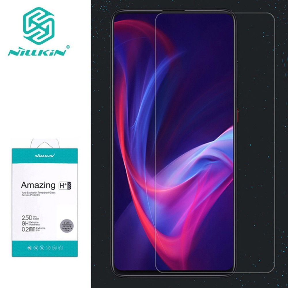 For Xiaomi Redmi K20 Tempered Glass Nillkin 9H Amazing H/H+Pro Clear Glass Film For Redmi K20 Pro Mi 9T 9T Pro Screen Protector-in Phone Screen Protectors from Cellphones & Telecommunications on