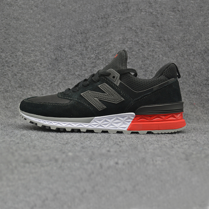 New 2018 NEW BALANCE NB574 574 ms574 Men's shoes women Breathable Sneakers Badminton Shoes size 36-44 new balance 574 neon lights