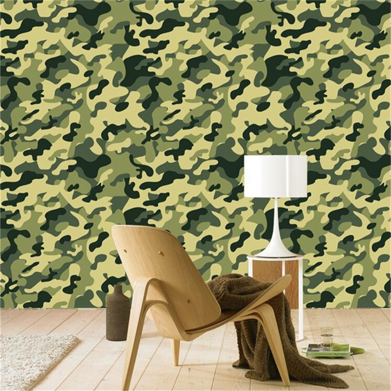 Beibehang Large Custom Mural Photo Military Camouflage Force 3D Wallpaper Living Room Bedroom TV Decorative Painting Wall