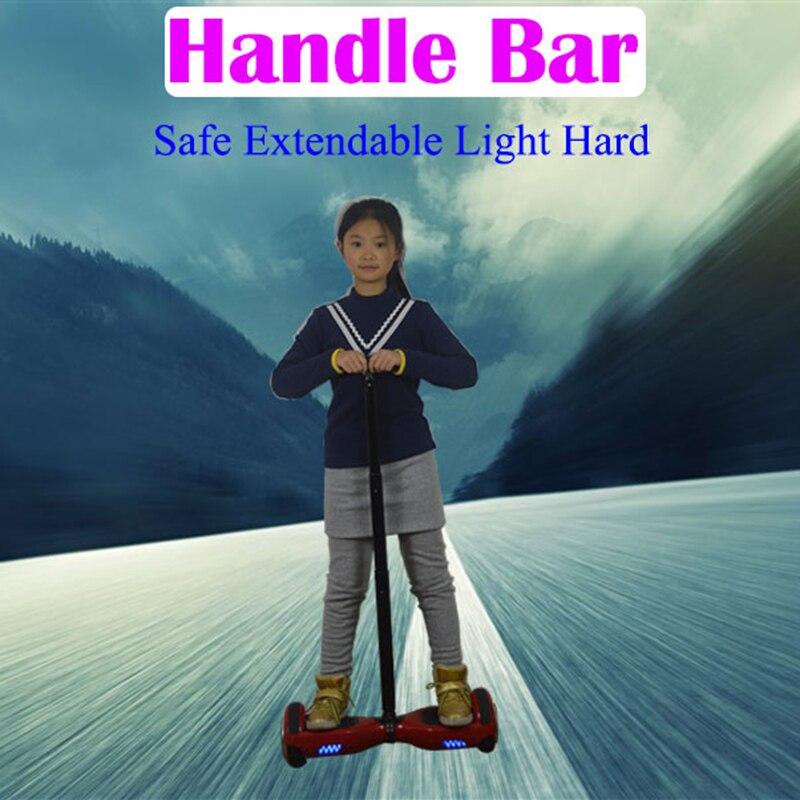 """Prix pour Grip Tige Extensible Handbar Poignée Contrôle Strut Stent Rail pour 6.5/10 """"Auto Équilibre Scooter Planche À Roulettes Hoverboard"""
