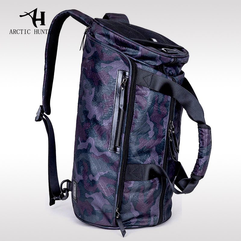 ARCTIC HUNTER Travel Bag Male Hand Big Capacity Shoulder Bag Men's Short Luggage Bag Fashion Style High Quality Camouflage arctic hunter 2018 large capacity fashion casual preppy style shoulder bag chest bag waterproof travel bags gift ship from ru