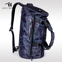 ARCTIC HUNTER Travel Bag Male Hand Big Capacity Shoulder Bag Men's Short Luggage Bag Fashion Style High Quality Camouflage