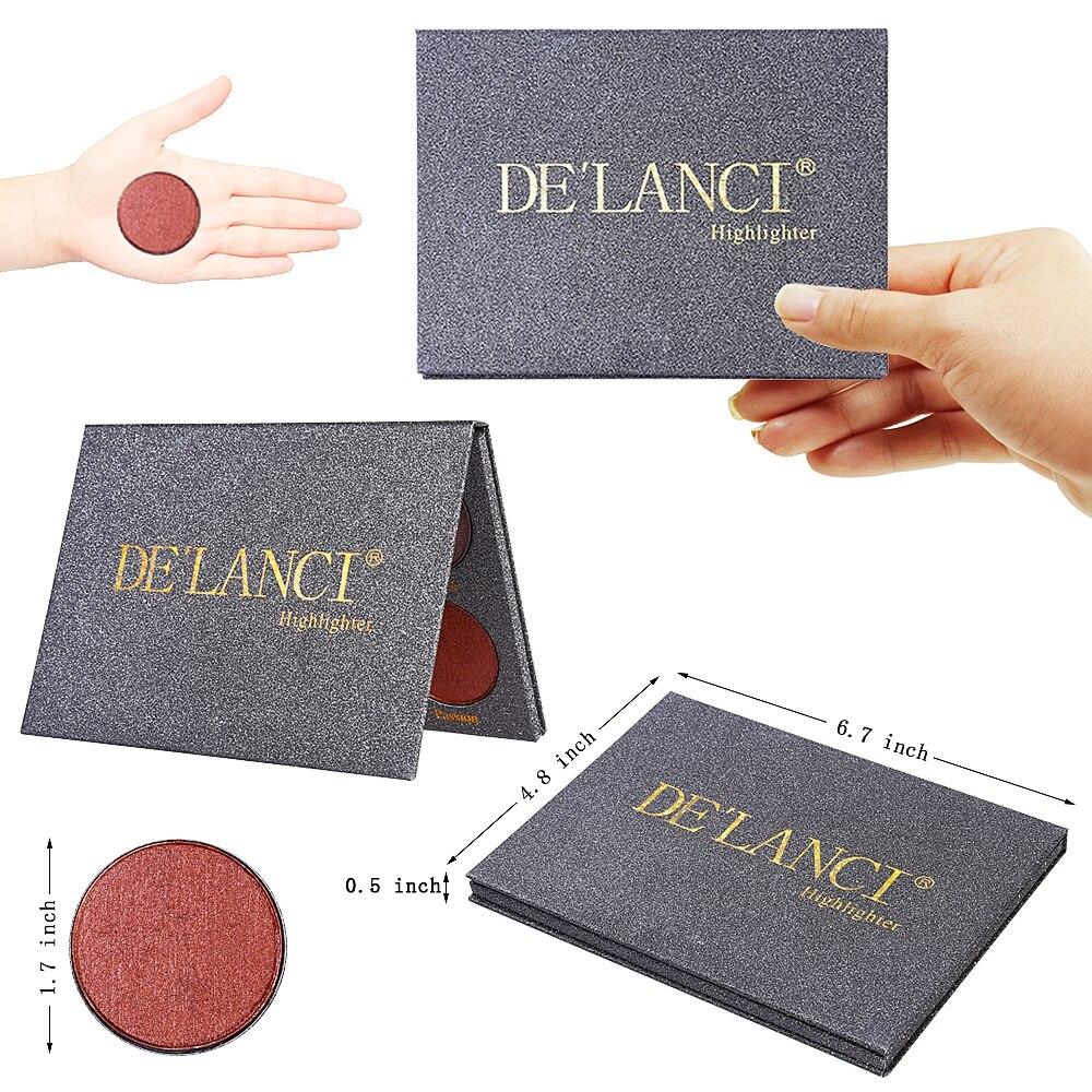 DE'LANCI Wet Cream Highlighter Bronzer Glow Kit Face Makeup - Makeup - Foto 6
