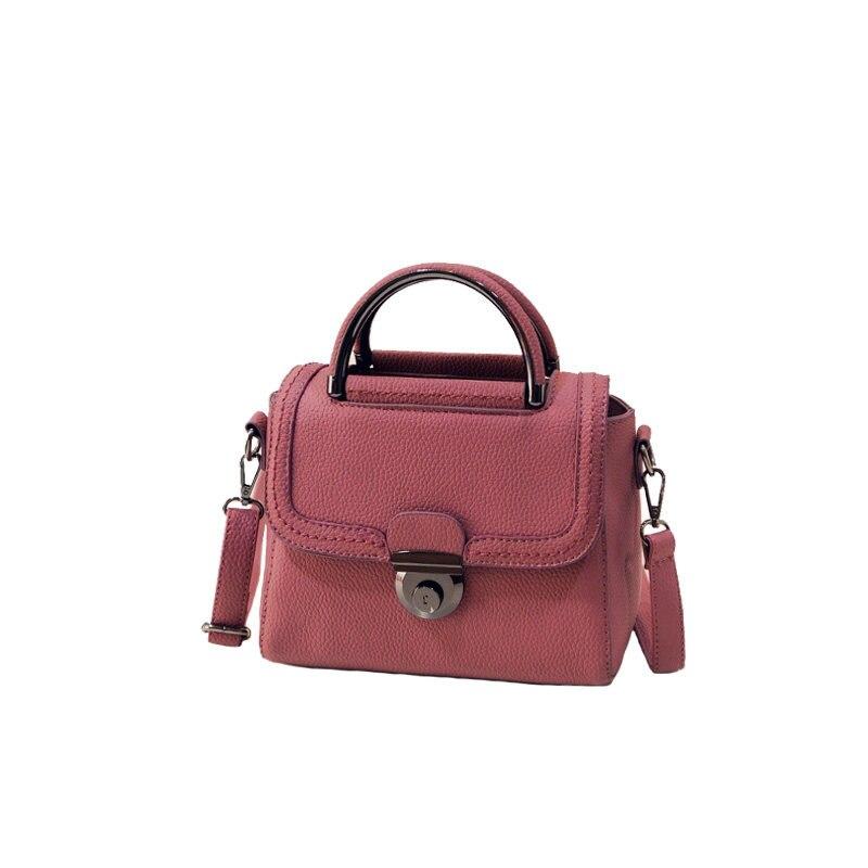 Korean Trendy Small font b Handbag b font Retro Fashion Embossed PU Shoulder Bag Women Vintage