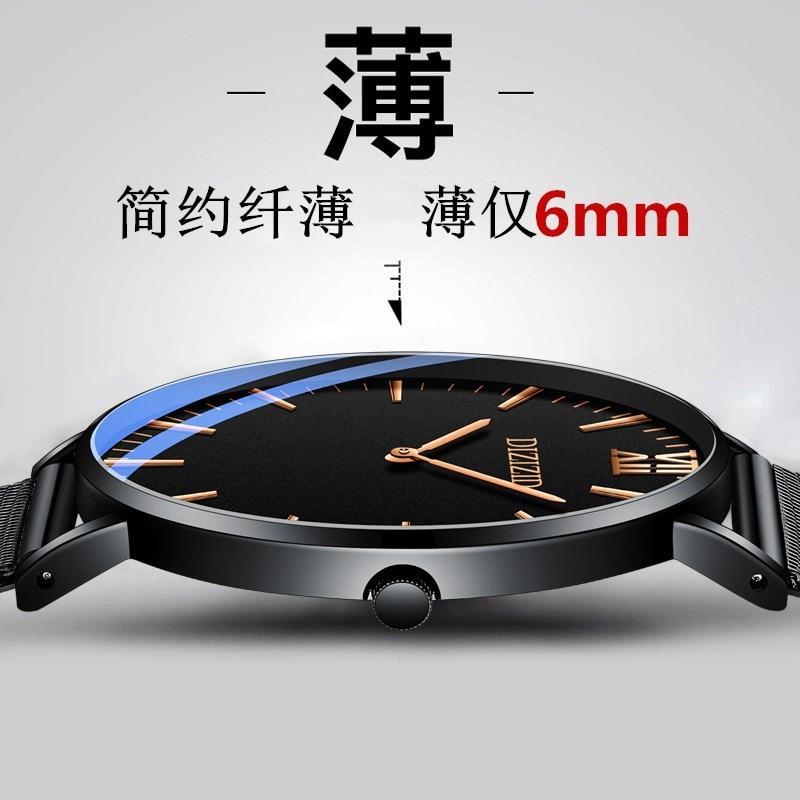 DIZIZID Business Mens Watch Casual Quartz Special Ultra-thin watch