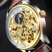 Tevise Automatic Watch Men Mechanical Watches Hollow Skeleton Self-Winding Male Luxury Brand Sport Wrist Watch Relogio Masculino creative watches men classic luxury black leather dial skeleton sport watches army wrist mechanical watch relogio masculino a1