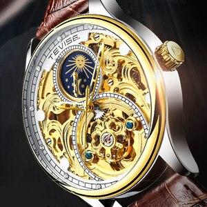Tevise Automatic Watch Men Mec