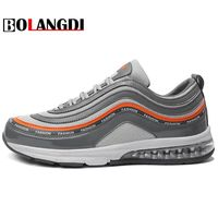 Bolangdi 2018 Hot Sale Sport shoes men Air cushion Running shoes for man Outdoor Summer Sneakers men's Walking Jogging Trainers