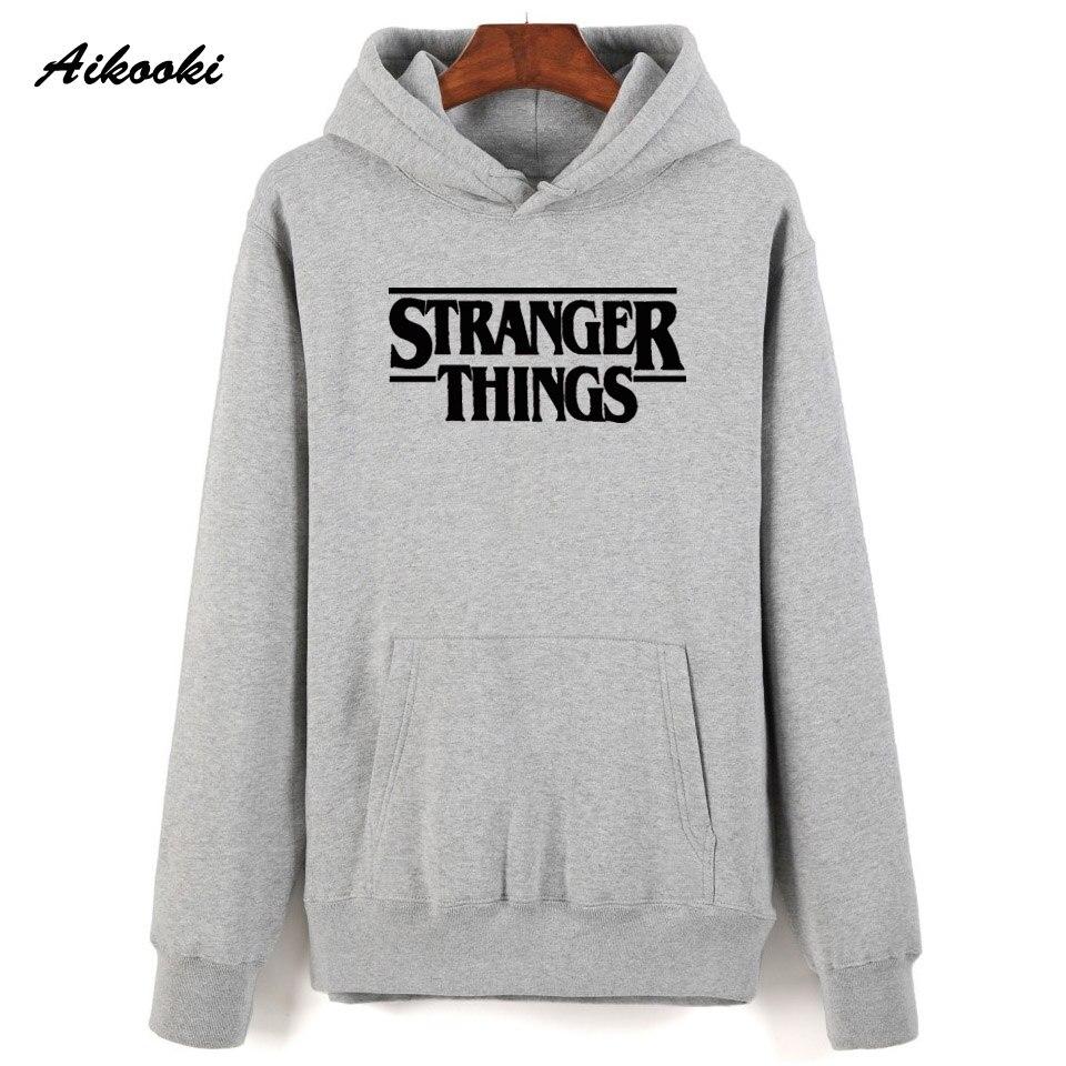 Hoodie Stranger Things Hoodies Sweatshirt women/men Casual Stranger Things Sweatshirts Women Hoodie Men's 14
