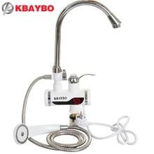 3000 W Calentador de Agua Eléctrico Inmediato Del Grifo de la Ducha Grifo de la Cocina Del Calentador de Agua Caliente