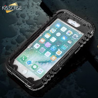 KISSCASE Waterproof Case For IPhone 7 7 Plus IP68 Swimming Diving Water Proof Case For IPhone