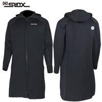 SLINX Для мужчин Для женщин 3 мм неопрена бурелом погружения ветровка быстрого теплоизоляция после плавания и дайвинга рыбалки в зимний