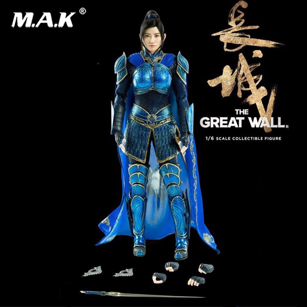 Hot Game For collection 1/6 Scale 3Z0048 1/6 Movie Series The Great Wall Commander Lin Mae Action Figure Collections new round of the great game