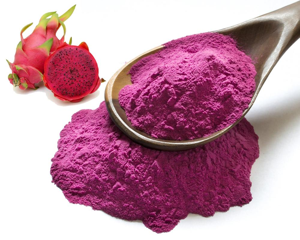 Natural Colouring Pink Pitaya Powder Red Dragon Fruit Powder Smoothies Superfood Diet Healthy Powder Shake Lollies Jelly Yoghurt(China)