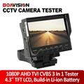 "Wrist 4.3"" TFT LCD HD 1080P AHD TVI Camera Tester CVBS CCTV Camera Tester DC 12V Output Video Audio Test Surveillance Security"