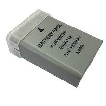 Batteries rechargeables au lithium EN EL14a, EN-EL14a EN-EL14, pour appareil photo numérique Nikon D3400 D5300 D5200 D3200 D3100 D5600