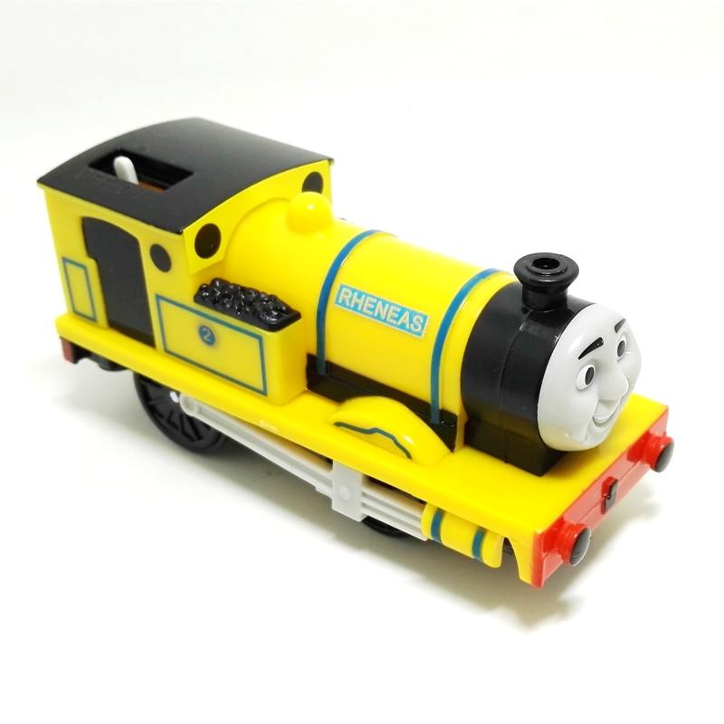 x137 Kids Toys Electric Thomas Train yellow Rheneas Thomas And Friends Magnetic Thomas Truck Locomotive Engine Railway gift boy