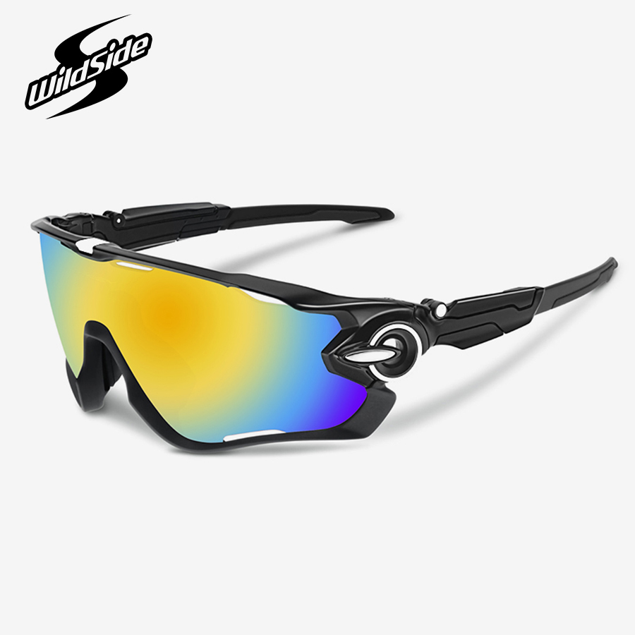 Brand Polarized cycling eyewear jaw bicycle glasses mtb mountain bike road racing protection sunglasses men women eye protect