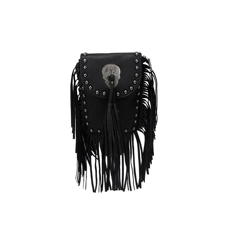 New Vintage Bohemian Fringe Messenger Crossbody Bag Purse Women Tassel Boho Hippie Gypsy Fringed Tote Handbag Womens (29)