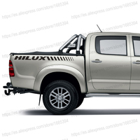 2 PC Free Shipping REAR STICKER HILUX FOR TOYOTA HILUX VIGO REVO