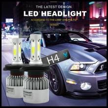 Modifygt S2 H7 LED COB H4 H11 H1 9005 9006 72W 8000LM 6000K 12v Car Headlight Bulbs Hi-Lo Beam Auto Headlamp car accessories