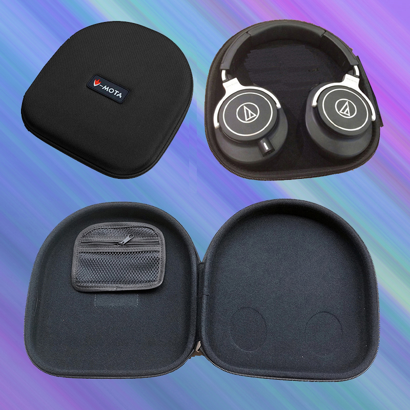 V-MOTA ANC headphone Carry case boxs for ATH-M50 ATH-WS1100 ATH-WS550 ATH-MSR7NC ATH-SR5BT ATH-DSR7BT ATH-DSR9BT headset