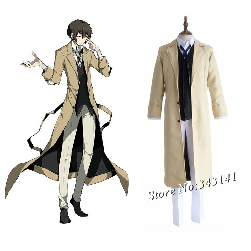 anime clothes for dogs: Aliexpress.com : Buy Dazai Cosplay Costumes Japanese Anime