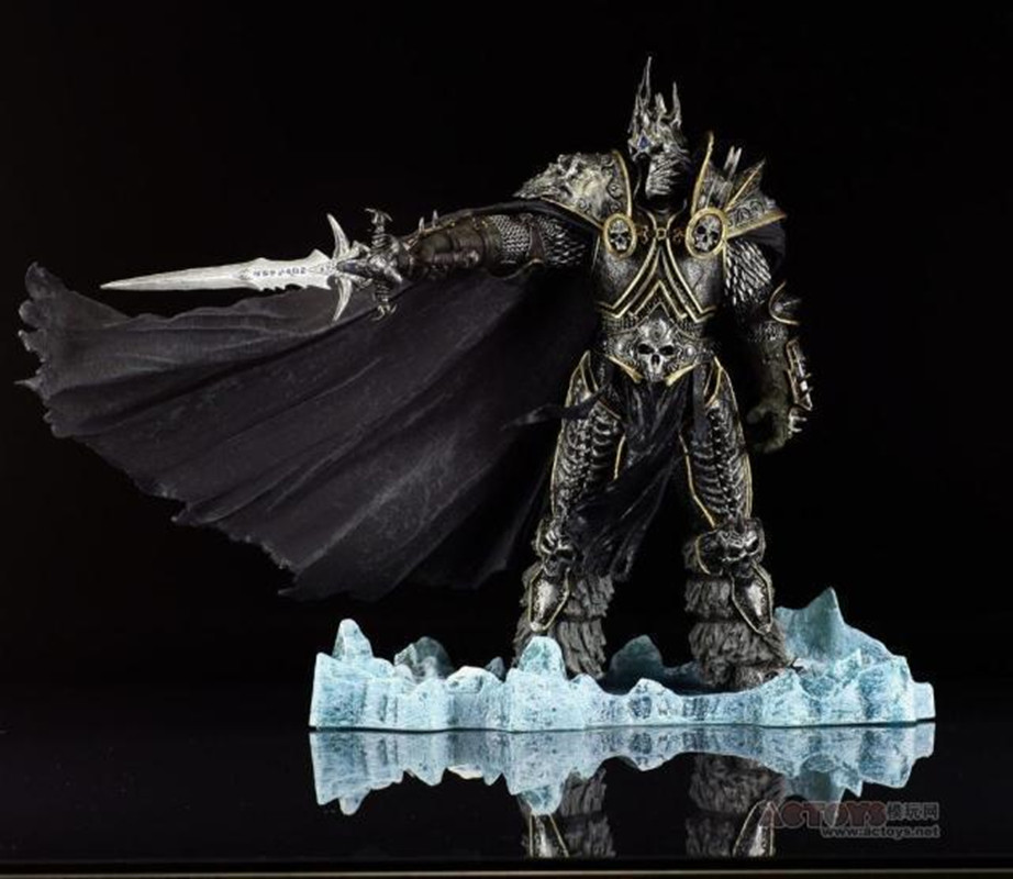 WOW Character FALL OF THE LICH KING ARTHAS ACTION FIGURE Model Toy 21CMWOW Character FALL OF THE LICH KING ARTHAS ACTION FIGURE Model Toy 21CM