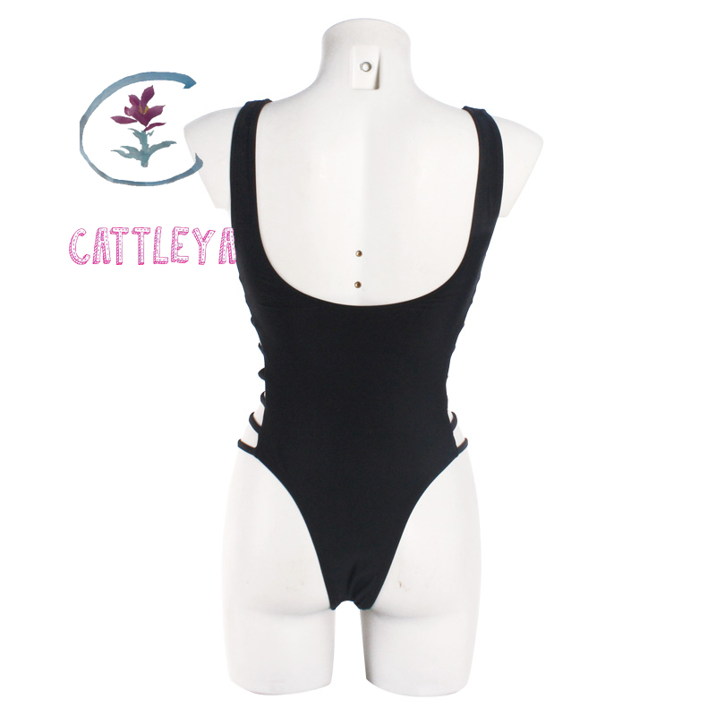 CATTLEYA one piece swimsuit biquini swimwear women sexy one piece swimwear one piece bathing CQ 17003 in Body Suits from Sports Entertainment
