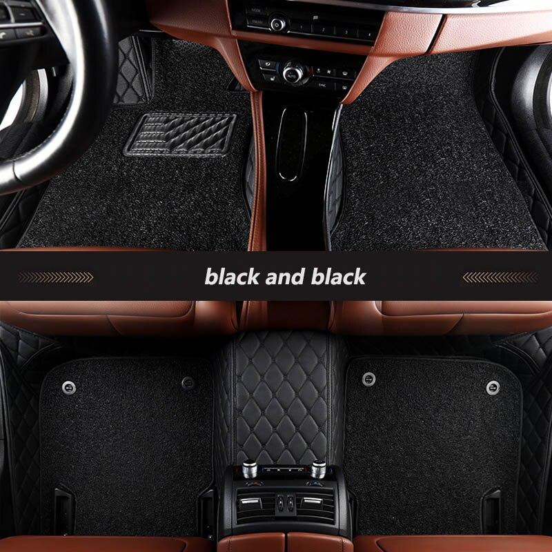 Kalaisike tapis de sol de voiture sur mesure pour Mercedes Benz tous les modèles E C GLA GLE GL CLA S R A ML GLK CLS B CLK SLK G GLS GLC vito viano