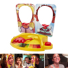 Pie In The Face Shocker Toy Cake Cream Family Party Fun Game Gadgets Prank Gags Practical