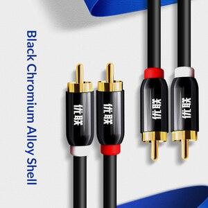 Image 3 - Unnlink HIFI 2RCA to 2 RCA RCA Cable OFC AV Audio Cable 1m 2m 3m 5m 8m 10m For TV DVD Amplifier Subwoofer Soundbar Speaker Wire