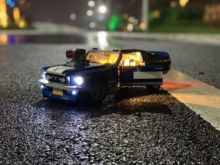 цены 1694 Ford Mustang Creator Expert DIY Led Light Set Compatible IEGOset 10265 21047 technic MOC race Car Building Blocks Toys Gift