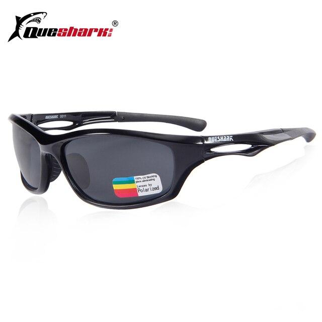 7eb2c3107e Queshark Nuevo 2018 gafas de sol polarizadas gafas de Ciclismo de TR90  marco para corriendo gafas