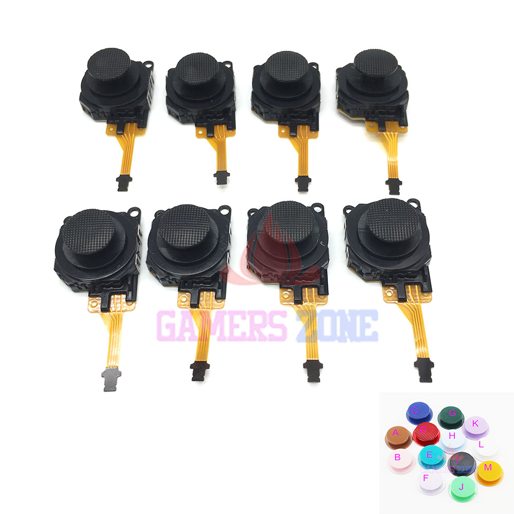 30pcs Analog Analogue 3D Joystick Button Control Stick For PSP 3000 3003 3004 Replacement