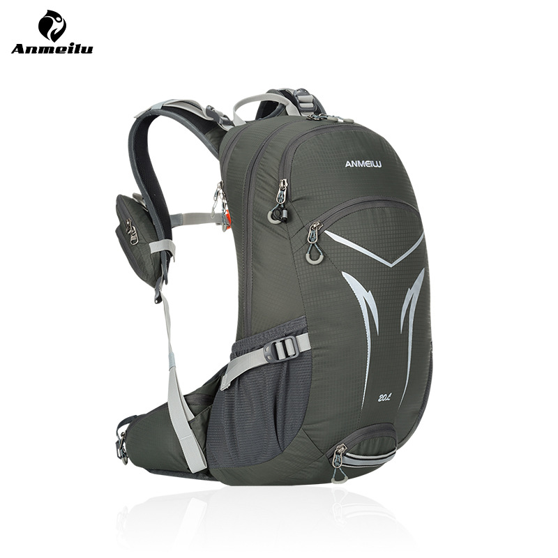 ANMEILU 20L Outdoor Riding Bicycle Backpack, Mountain MTB Cycling Bag, Waterproof Hiking Running Climbing Bag With Rain Cover anmeilu waterproof unisex travel bag 20l outdoor bicycle bike bags mountain camping climbing rucksack outdoor hiking hunting bag