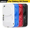 Для Samsung Galaxy S4 Zoom Case Обложка Мягкая TPU Case для Samsung S4 Zoom C101 Силиконовый Чехол Телефон Случаях кожа shell