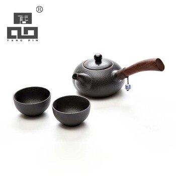 TANGPIN Японский керамический заварочный чайник, чайник, японский чайный набор, подарки на Рождество