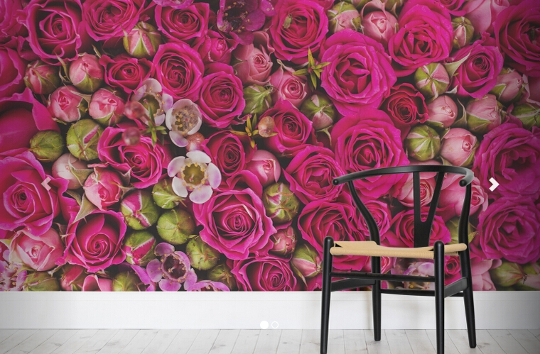 Custom photo wallpaper, Packed Roses Wall Mural for the living room bedroom TV background PVC papel de parede custom children wallpaper multicolored crayons 3d cartoon mural for living room bedroom hotel backdrop vinyl papel de parede