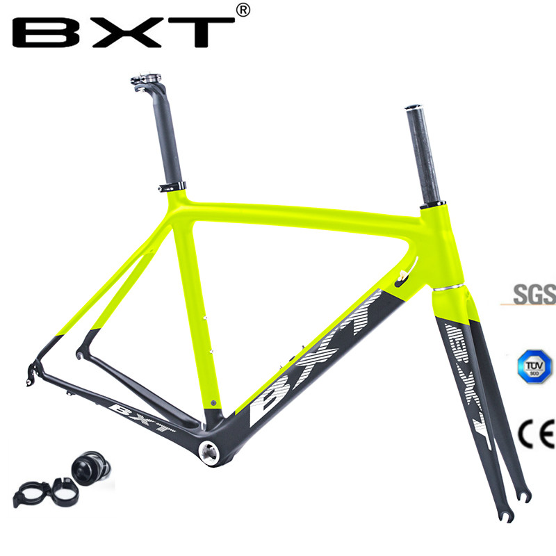 Carbon Road Frame Bicycles BXT 2017 DI2 V Brake Road Bike Chinese Carbon Frames Cycling Bicycle Frame With Fork Carbon Road Bike