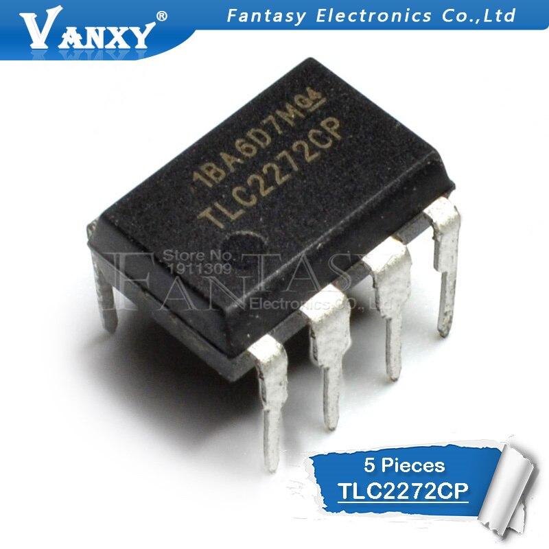5PCS TLC2272CP DIP8 TLC2272 DIP 2272CP DIP-8 TL2272CP New And Original IC