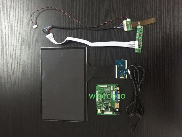 Placa de controlador HDMI + VGA Módulo de pantalla LCD IPS de 10,1 pulgadas con panel táctil 1280*800 LVDS para proyecto de bricolaje