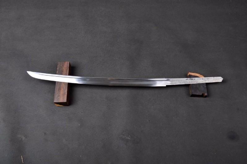 Details about  /Handmade Bamboo Style Pattern Steel Japanese Wakizashi Sword Samurai Sword Sharp