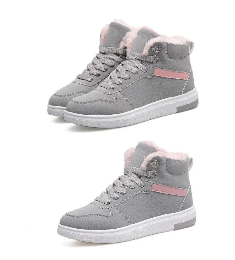 D'hiver Mode Pour Épaisse Green Dames De 2018 Marque Chaussures Nouvelle Noir Coton gris Femmes En army Chaud Semelle Sneakers Peluche L'hiver 5EAqFAn
