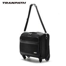 18 universal-räder handels computer trolley gepäck reisetasche gepäck softbox, trolley reisetaschen mit handtraps, multiuse