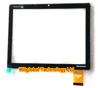 Original New Touch Screen Clementoni Clempad XL Dualcore 8 Tablet Touch Panel Digitizer Glass Sensor Free
